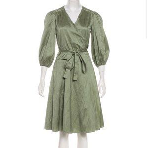 Calypso Silk wrap dress xs